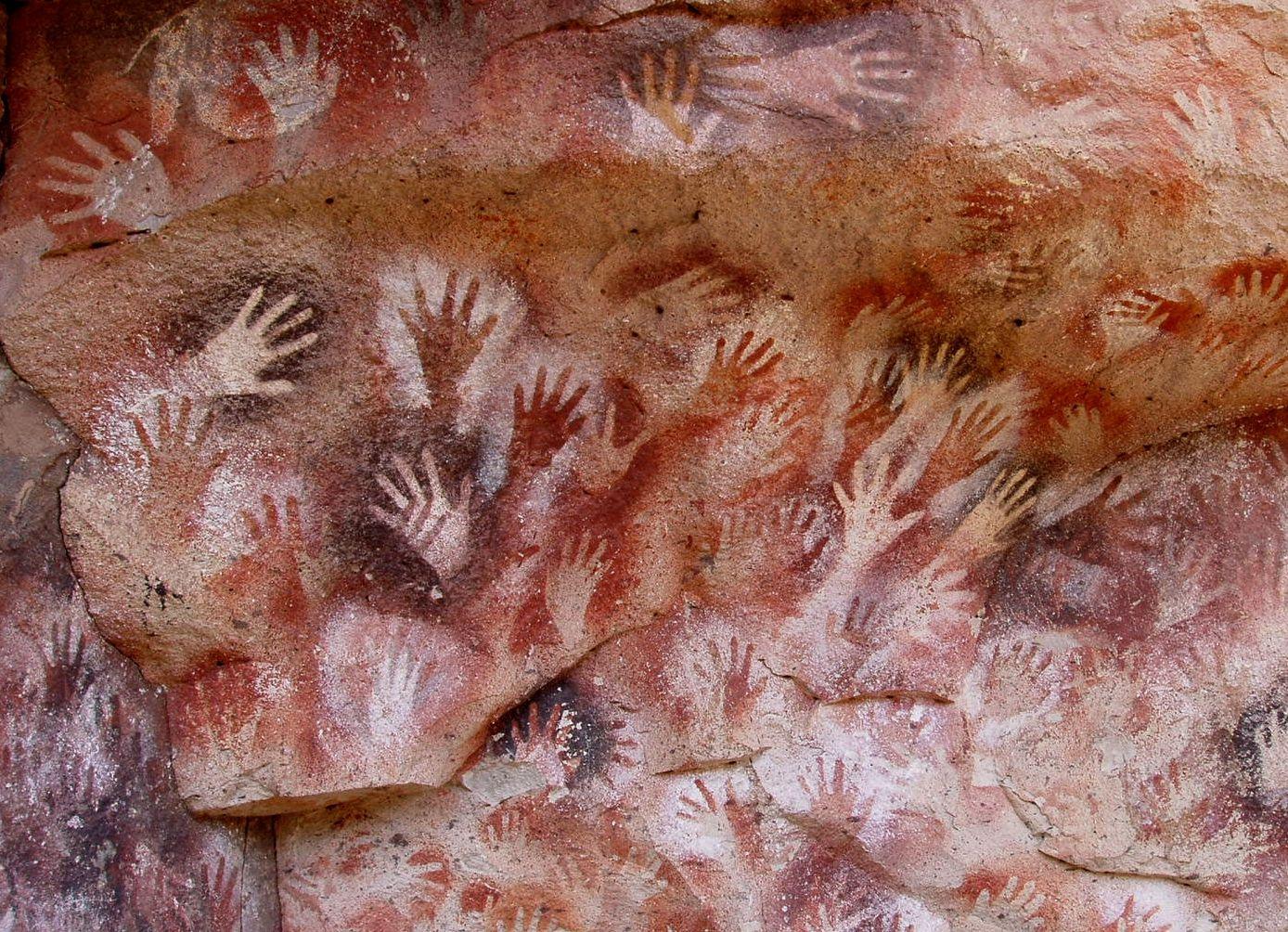 Jeskyně rukou