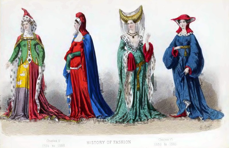 French-Fashion-Middle-Ages